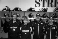 Left to right - Full-time equipment crew Brett McGiness, Robert Bland, Jon Falk, Rick Brandt